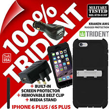 New Trident Kraken Rugged Case for iPhone 6 Plus/6S Plus +USB Car +Mains Charger