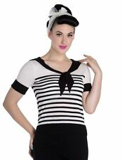Hell Bunny Short Sleeve Fitted Tops & Shirts for Women
