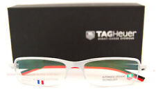 Brand New TAG Heuer Eyeglass Frames AUTOMATIC 0824 002 Silver For Men