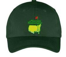 US Masters Golf Tournament  Tour Hat Cap   - Promo cap GREEN
