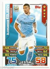 2015 / 2016 EPL Match Attax Base Card (152) Aleksandar KOLAROV Manchester City