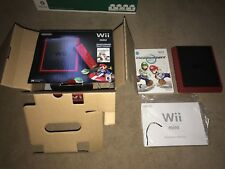 Nintendo Wii mini Limited Edition 8GB Red Console Complete in box! Fast Shipping