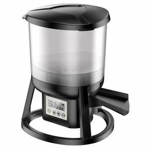PondH2o Automatic Pond Fish Feeder With Rechargeable Battery, 13lb capacity