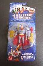 Silver Storm Superman 2004 JUSTICE LEAGUE Mattel MOC #2 VARIANT