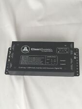 Jl Audio Clean Sweep Cl441Dsp Interface Processor CleanSweep Used- As iS