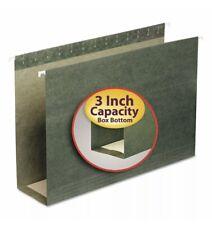 Smead 3 Capacity Box Bottom Hanging File Folderslegalgreen25box 64379
