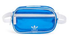 Adidas Tinted Belt Bag Fanny Pack Translucent Blue White Trim Coachella
