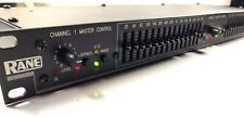 Rane Me 15B 2/3-Octave Dual Channel Graphic Equalizer