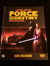 FORCE AND DESTINY CORE RULEBOOK Star Wars RPG Role-Playing Game