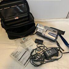 Vintage Sony Handycam Vision CCD-TRV68 NTSC Hi-8 Cords Case 460x Zoom