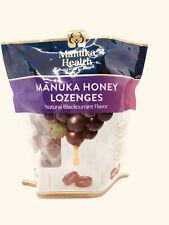 Manuka Honey Lozenges Blackcurrant Flavor 58 Ct MGO 400+ New Zealand Vitamin C