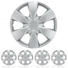 "15"" Hubcaps Silver Wheel Cover OEM Replacement Hub Caps Set of 4 Hub Caps"
