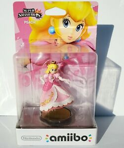 NEW Amiibo Peach No Legs Error Smash brothers Switch 3DS WiiU 1st Print US AS IS