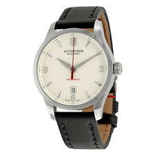 Victorinox Alliance Mechanical Automatic Leather Mens Watch 241666