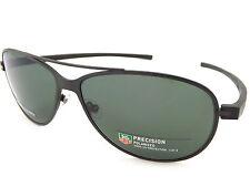 TAG HEUER Polarised REFLEX 3 sunglasses Satin Black / Precision Green TH3982 301