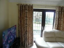 FRENCH DOORS AND WINDOW CURTAINS