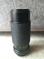 Bell & Howell 80-205mm 4.5  Macro Zoom lens, Pentax PK mount