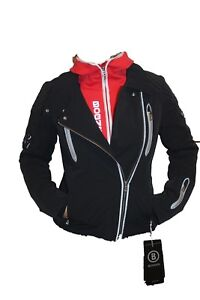 Bogner Women's Ski Jacket Tyra T Black Red SIZE XS 34 S 36 Or M 38 New