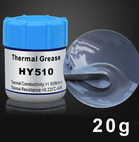 1X 20g Cooler Heatsink For CPU PC Thermal Grease Conductive Silicone Paste Hot C