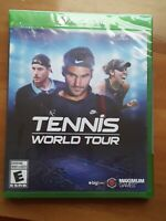 Tennis World Tour, Xbox One, *BRAND NEW FACTORY SEALED* Free Shipping & Returns