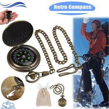 Retro Compass Military Survival Fluorescent Glow Survival Gear Compass Camping