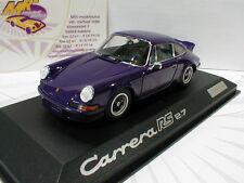 """Minichamps Werbemodell # Porsche Carrera RS 2.7 Baujahr 1980 in """" lila """" 1:43"""