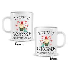 I Love You Gnome Mug Novelty Valentines Lovers Couple Gift (MUGPN00214)