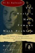 The World's Most Famous Math Problem: The Proof of Fermat's Last Theorem and Ot