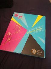 London 2012 50p Collectors Album Royal Mint Olympic Games