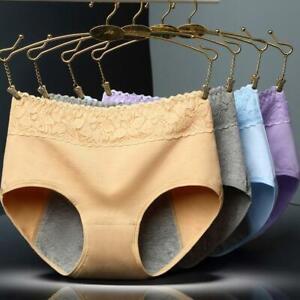 Women Lady Underwear Menstrual Period Leakproof Seamless Cotton Panties Briefs