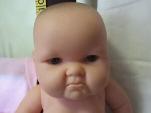 "Mad Face LOTS TO LOVE Baby Doll BERENGUER 10"" with extra outfits Caucasian"