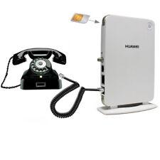 Router Huawei B260a 3G umts WiFi SMA Sim Modem e Combinatore telefonico gsm RJ11