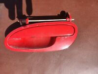 Holden Commodore VT VX VY VZ Door Handle LHF F143 Sting Red Marks Left Rear