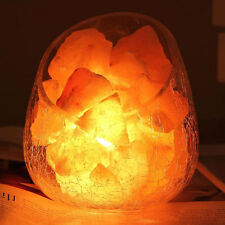 1Pcs Mini Natural Himalayan Air Purifier Crystal Rock Salt Block Salt Light Lamp