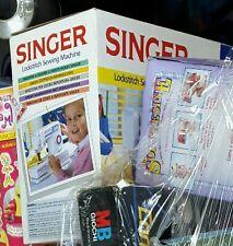 VINTAGE NEW SINGER LOCKSTITCH SEWING MACHINE - Macchina da Cucire Per - NEW -