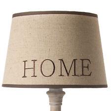 Lampenschirm Stoffschirm Home Beige Braun Stoffschirm für Tischlampe Wandlampe