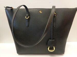 """RALPH LAUREN Vegan Leather Keaton Tote Bag  REF BAG350"""""""