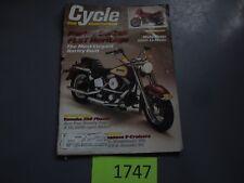 1986 March Cycle Magazine Moto Guzzi 1000 Le Mans VN750 XV700 VT1100 VS700 Honda