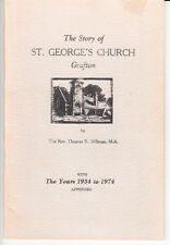 THE STORY OF ST GEORGE'S CHURCH GRAFTON (ONTARIO) 1934 TO 1974 PLUS SUPPLEMENT