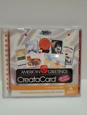 American Greetings Createacard Special Edition Windows 95 98cd Rom