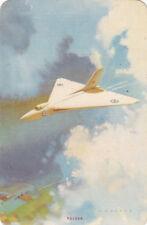 #8 1 vintage single playing swap card - ENN - Vulcan - RW