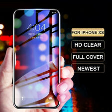 For iPhone X XS MAX XR Full Coverage 9D 9H Tempered Glass Anti Blue Ray Guard