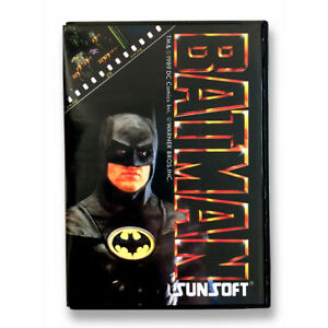 BATMAN - Empty box Replacement plastic spare case for Famicom game