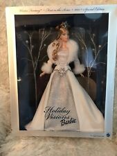 2003 Mattel Holiday Visions Barbie Winter Fantasy Special Edition NRFB B2519