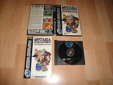 MYSTARIA THE REALMS OF LORE BY MICROCABIN FOR SEGA SATURN USED COMPLETE