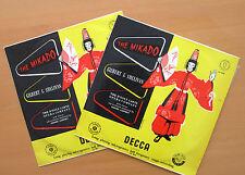 LK 4010-11 Gilbert & Sullivan The Mikado D'Oyly Carte Decca 2xLP Mono EXCELLENT