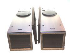 PAIR of TWO Vintage TECHNICS SB-T20 Honeycomb Disc Loudspeakers Speakers -TESTED