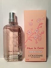 L'Occitane Cherry Blossom Eau De Toilette Spray 2.5oz75ml  NIB