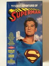 T.V.'s Best Adventures of Superman VHS 1996 Volume 3 Panic in the Sky Big Freeze