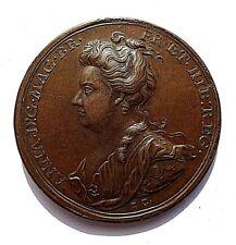 More details for 1707 anne union of england & scotland bronze medal/medallion ( eimer 425 ) aunc